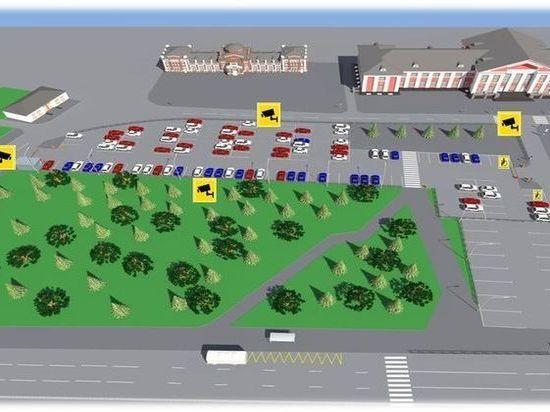 В Барнауле у ж/д вокзала обустроят платную парковку на 140 мест