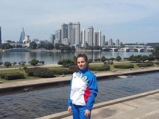 Барнаульская спортсменка Ксения Подлужная — о поездке в КНДР