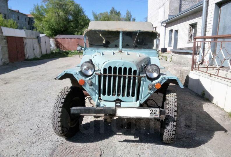 Легендарный ГАЗ давно минувшего 1949-ого года выпуска реализуют вБарнауле