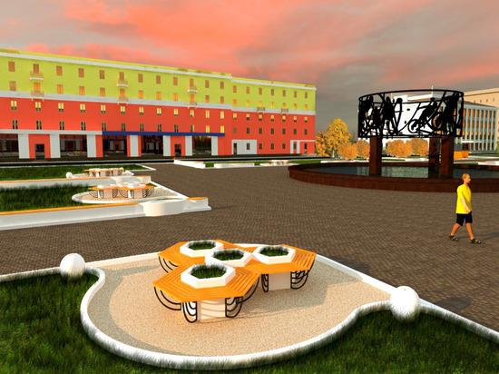 Как может выглядеть сквер Химиков вБарнауле— Проект благоустройства