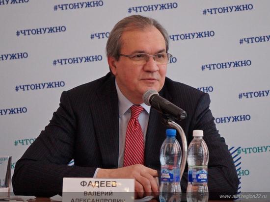 Валерий Фадеев: «Мы должны помочь власти и активистам найти взаимопонимание»