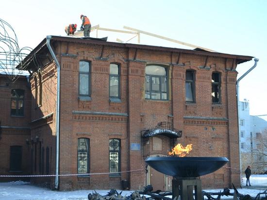 В Барнауле стартовал ремонт поврежденного пожаром Дома афганцев