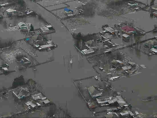 НаАлтай взону затопления выехали неменее 200 сибирских спасателей