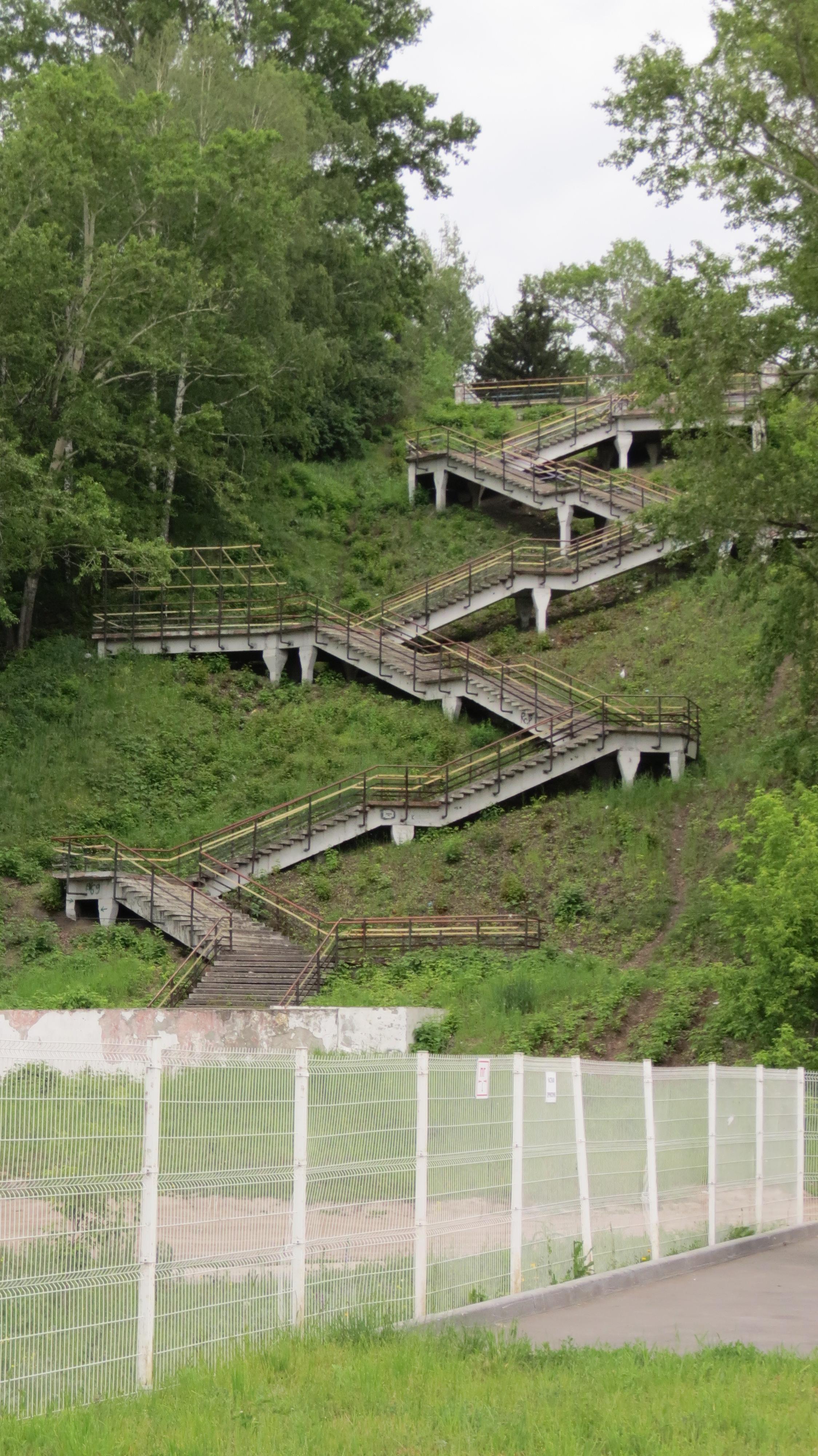 Фото лестницы в барнауле на вднх